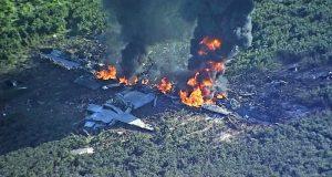 Mueren 16 personas tras estrellarse avión militar en Mississippi