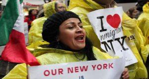 Nueva York defenderá a los inmigrantes advierte Bil de Blasio