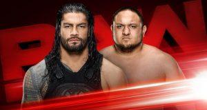 Roman Reigns se enfrentará a Samoa Joe en Raw y el ganador luchará contra Brock Lesnar en SummerSlam 2017 por el campeonato universal.