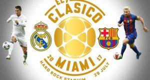 Real Madrid y Barcelona se enfrentarán en la International Champions Cup 2017.