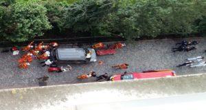 Seis soldados heridos tras embestidos por un vehículo en las afueras de París