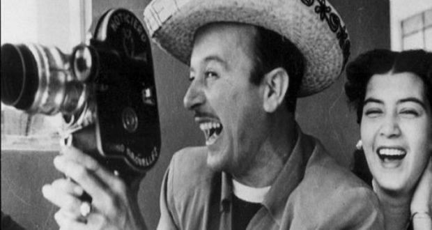 Pedro Infante con cámara