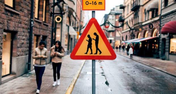 Peatones y smartphones