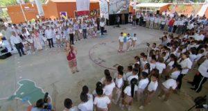 LaDoctora Julieta Fierro comparte una crónica de su participación en la ceremonia de regreso a clases
