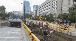 Se da a conocer la fecha de inauguración del doble túnel de Mixcoac