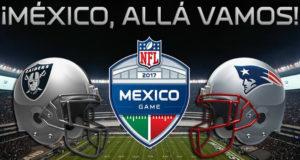 Se revela el precio y fecha del partido de la NFL de Raiders vs Patriots en la Ciudad de México.
