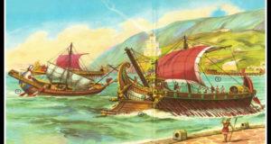 Barco de la antigua Roma