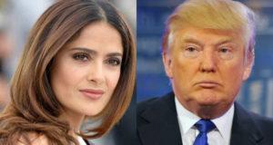 Salma Hayek comenta sobre la presidencia de Donald Trump