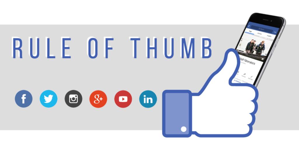 thumb y redes sociales