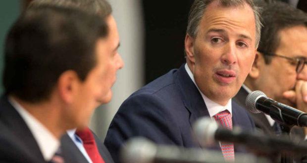 José Antonio Meade candidato del PRI a la presidencia 2018