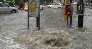 Intensas lluvias dejan inundaciones en la CDMX
