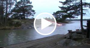 Captan explosión de un río que aparentemente fue provocada por un rayo láser [Video]