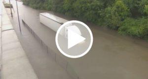Reportera salva la vida de un hombre mientras cubría el huracán Harvey [Video]