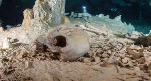 Localizan los restos mas antiguos del continente americano en México