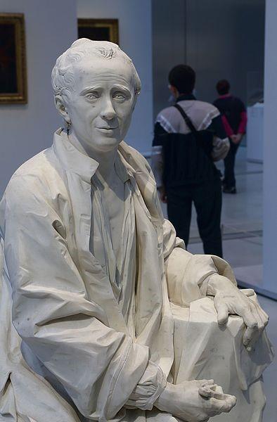 D'Alambert, escultura