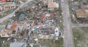 """El huracán Irma """"destruye"""" el 90% de los edificios en la isla de Barbuda"""