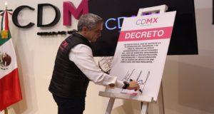 Mancera presenta plan para la reconstrucción y recuperación de la CDMX