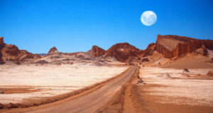 El desierto atacama, la más árida empieza a florecer