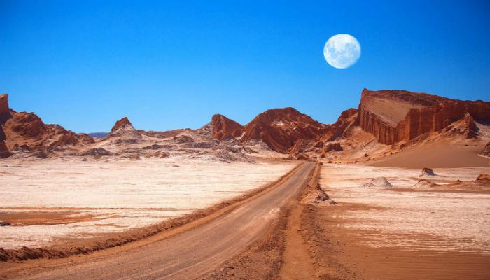 El desierto m s seco del mundo finalmente muestra se ales for Marmoles y granitos zona norte