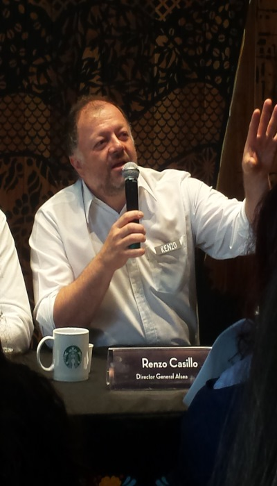 Renzo Casillo, Director General Alsea México
