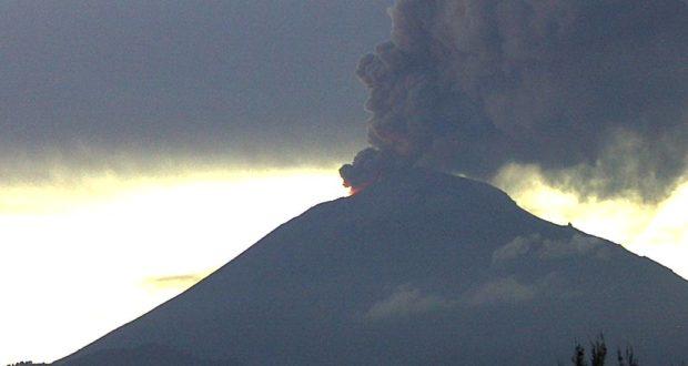 Incrementa actividad el Volcán Popocatépetl . Riesgos y causas