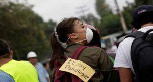 """""""Hablar de los vivido durante el sismo es bueno para la salud mental"""": Psicólogos"""
