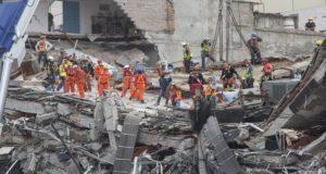 Diana estuvo 17 horas bajo los escombros, pero logró sobrevivir