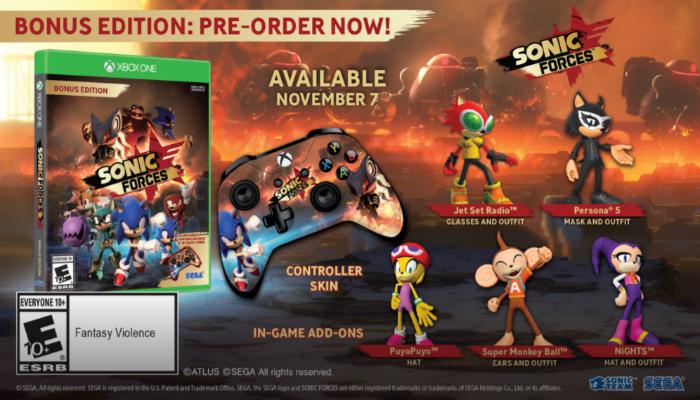 Se revela la fecha de lanzamiento del juego de Sonic