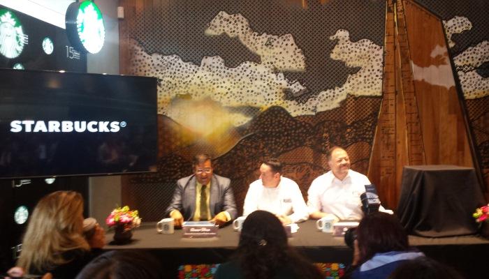 El Semanario presente en los 15 años de Starbucks México