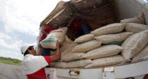 Autoridades garantizan abasto de artículos en zonas afectadas ante la situación de emergencia que se vive en el centro del país.