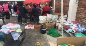 ayuda damnificados sismo