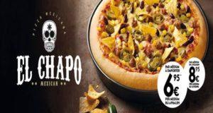 """""""El Chapo"""" ha sido utilizado en infinidad de productos, la más famosa es la serie de Netflix que cuenta su historia y que ha sido parte de la polémica comercial que los hijos y familiares del capo pretendían reclamar por el uso del apodo de su padre."""