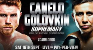 El mexicano Saúl Álvarez se enfrentará al kazajo Gennady Golovkin, quien llega invicto y es, después de Floyd Mayweather, la amenaza más peligrosa en la carrera de Canelo.