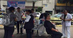 Se vacunaron a más de 6 mil personas contra el tétanos durante las brigadas de rescate en la CDMX