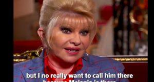 Ivana Trump dice que es una primera dama y Melania Trump le responde: