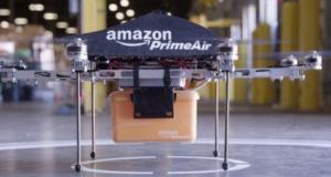 Amazon busca crear un dron para recargar coches eléctricos en movimiento