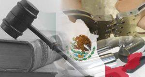 bandera de México y justicia penal