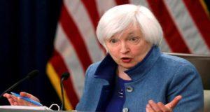 Fed sube la tasa de interés y Yellen reconoce altos niveles de deuda de EU, antes de dejar el cago como directora de esta institución financiera.