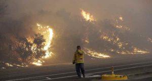 """Conoce """"vientos del Diablo"""" a quienes se les acusa de provocar los incendios en California"""