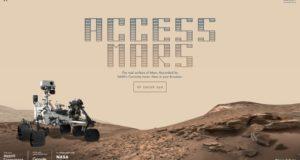Esta es la forma en la que podrás visitar Marte virtualmente con Google