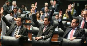 Votación en la Camara de Senadores