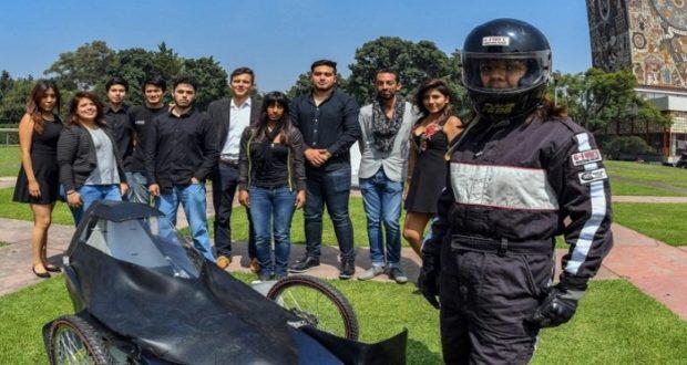 Auto eléctrico creado en la UNAM competirá en Brasil