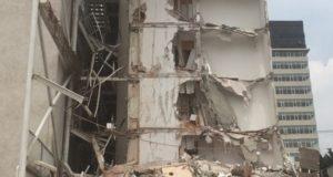 edificios colapsados