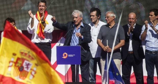 Vargas-Llosa en Barcelona