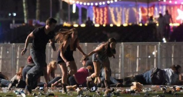 At least 50 dead in Las Vegas mass shooting