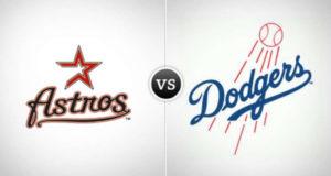 Los Astros de Houston vencieron siete carreras por seis a los Dodgers de Los Ángeles en once innings.