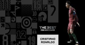 El atacante portugués obtuvo más votos que Messi y Neymar para ganar por segunda vez el premio de The Best FIFA Football Awards.