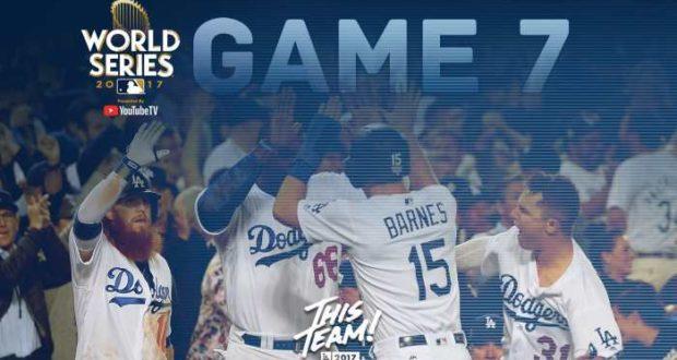 Dodgers y Astros definirán al campeón del 2017 en el séptimo juego de la serie mundial
