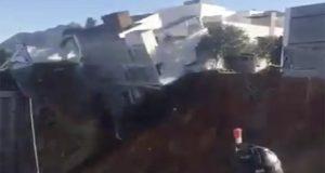 Hallan cuerpo de mujer tras derrumbe causado por obra en Monterrey