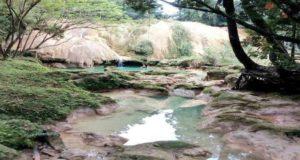 """""""Desconocen motivos que provocaron sequía en cascadas de Agua Azul"""": Autoridades"""